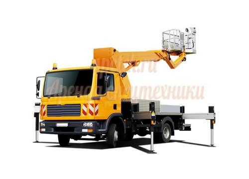 Автовышка Исузу 16 метров